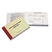 Unspecified Ward Controlled Drugs Order Book [EACH]